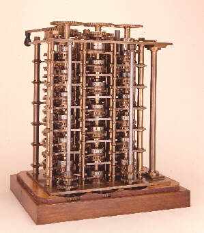 photo of babbage's difference engine