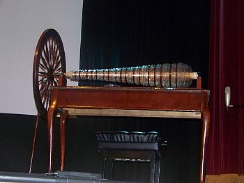 Modern glass armonica based on Franklin's Design