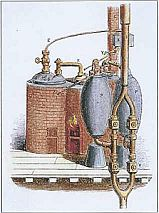 Thomas Savery's Steam Engine